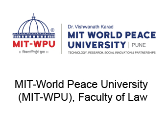 MIT-World Peace University (MIT-WPU), Faculty of Law